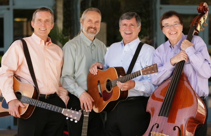 The Brothers Four: Left to Right: Mike McCoy, Karl Olsen, Mark Pearson, Bob Flick